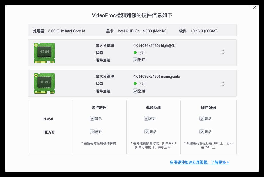4K HEVC/H.265解码